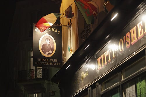 Irish pub in Paris